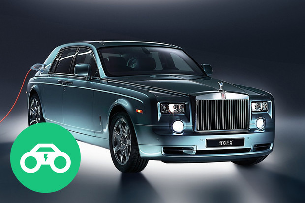 Elektromobily, které neznáte: Rolls-Royce 102EX