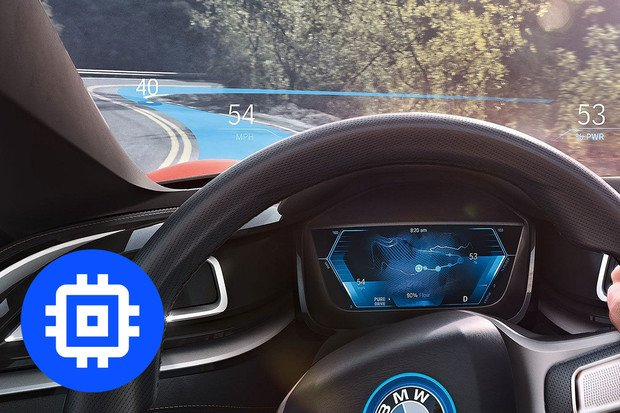 Technologie v autech: head-up displej
