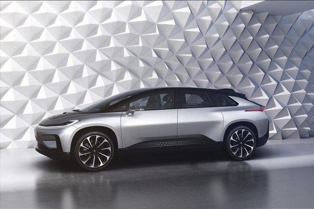 Faraday Future dokončuje první předprodukční kus svého SUV s výkonem 783 kW