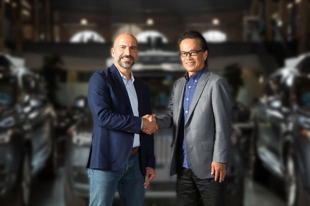Toyota a Uber rozšiřují spolupráci v oblasti technologií autonomního řízení