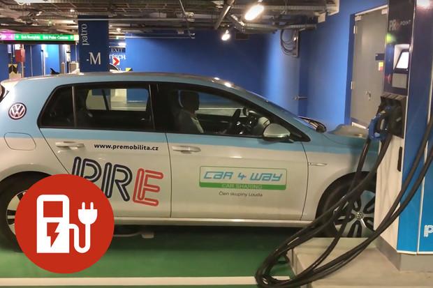 Nabíjíme elektromobil: rychlonabíjecí stanice PRE