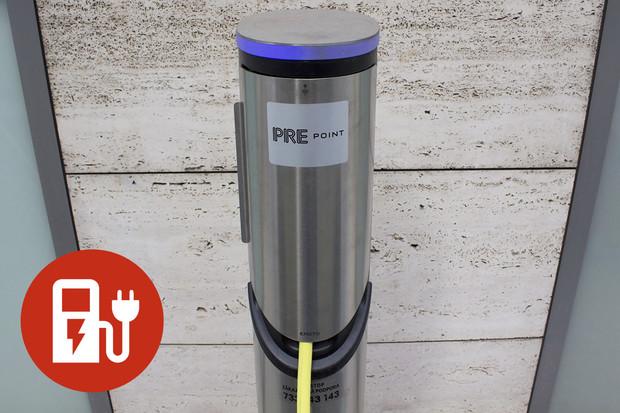 Nabíjíme elektromobil: nabíjecí stanice PRE