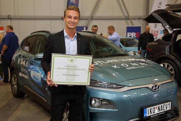 Hyundai Kona Electric zvítězil v anketě Zelené auto roku 2018