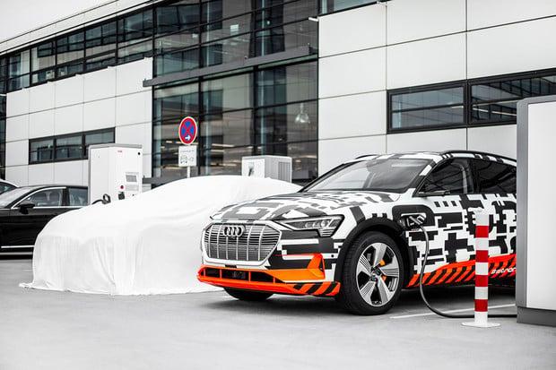 S Audi e-tron budete moci nabíjet na 72 tisících stanic v 16 zemích EU