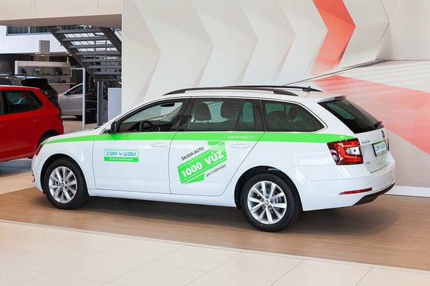 CAR4WAY už má 1 000 automobilů od Škody Auto