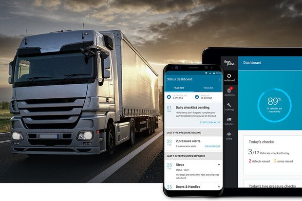 Bridgestone ukázal aplikaci FleetPulse. Má udržovat flotilová auta v dobrém stavu