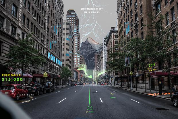 Holografická navigace se díky Hyundai může objevit už za dva roky