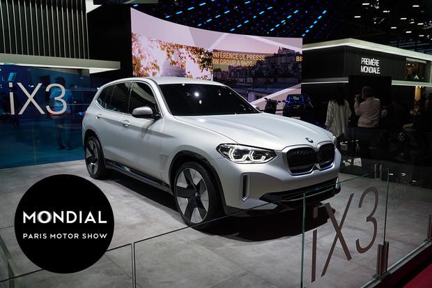 V Paříži nechybí elektrické SUV BMW iX3. Dostává reálnou podobu