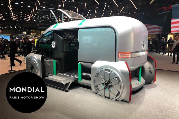 Renault v Paříží představuje svojí vizi budoucnosti městské mobility EZ-PRO