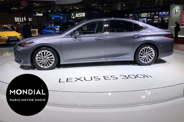 Lexus ES dorazí i na náš trh. Verze 300h má velmi zajímavou pohonnou jednotku