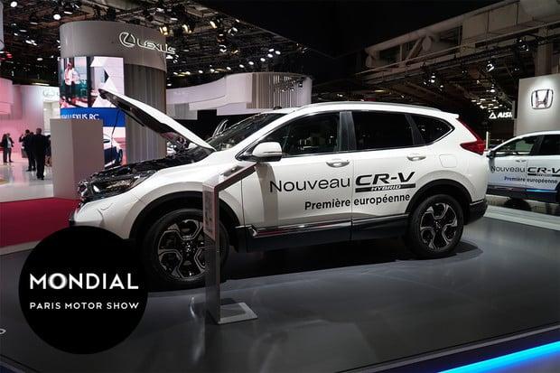 První pohled na novou Hondu CR-V se systémem Honda Hybrid Performance