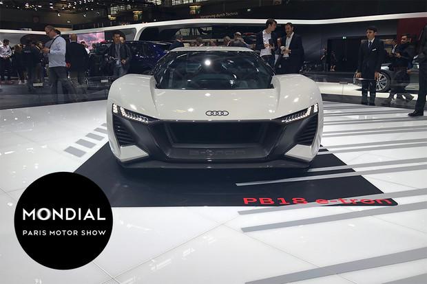 Audi ukázalo studii PB18 e-tron. Jde o závodní nářadí, které může i na silnice