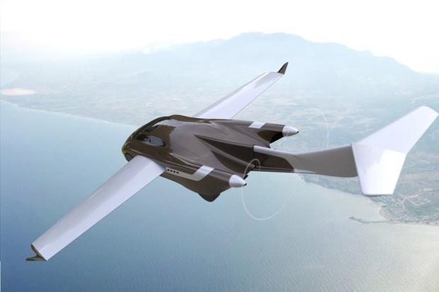 AirCar: sen o novém létajícím autě designéra AeroMobilu Štefana Kleina