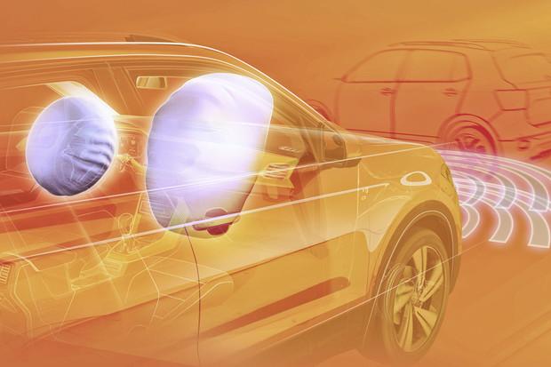Nový Volkswagen T-Cross dostane do sériové výbavy systém rozpoznávání chodců