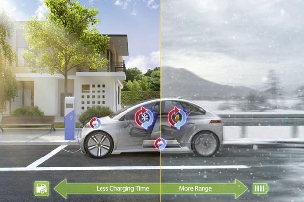 Continental vyvinul systém řízení teploty. Elektromobily budou o 25 % úspornější