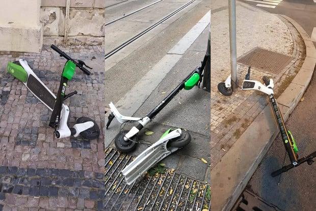 Elektrokoloběžky Lime řeší jeden problém za druhým