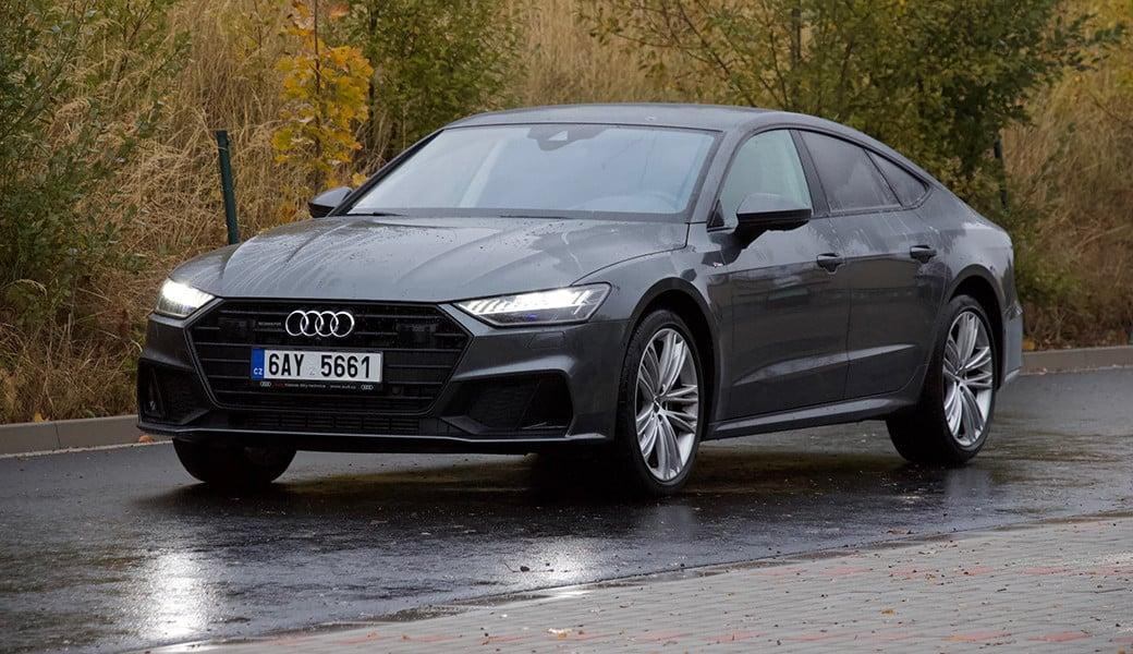 Čte značky a samo zastaví i se rozjede. Co vše umí Audi A7 bez vás?
