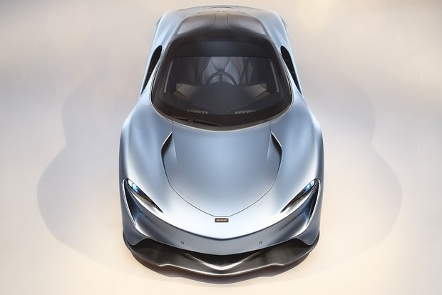 Třísedadlový hybridní McLaren má výkon 1050 koní a umí jet až 403 km/h