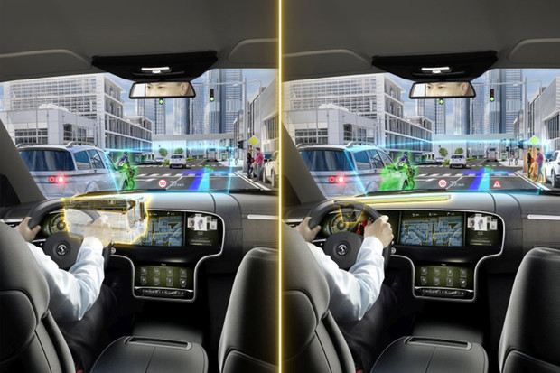 Continental představuje head-up displej s rozšířenou realitou