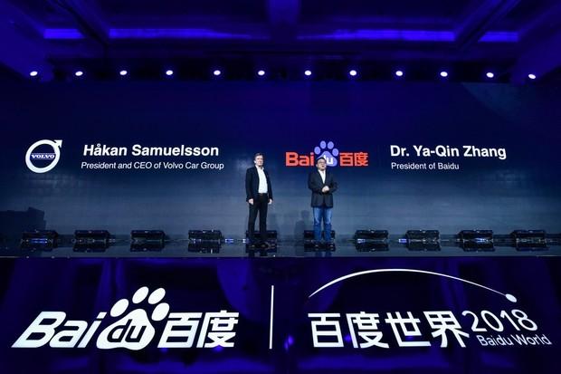 Volvo Cars a Baidu spojují síly. Cílem je vývoj autonomních vozidel