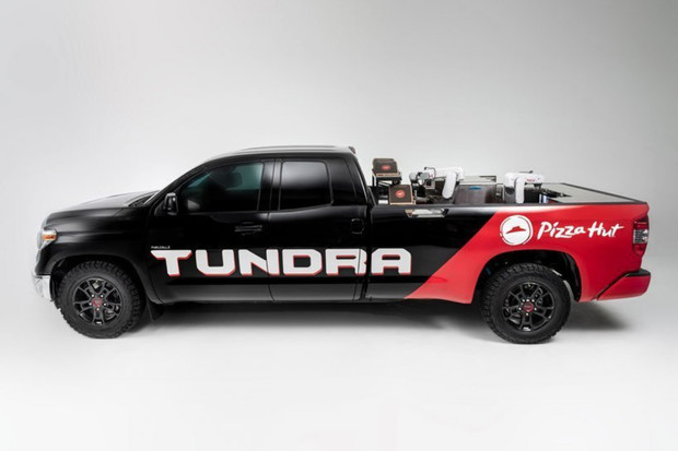 Pizza u vás doma za 7 minut? Toyota Tundra PIE Pro váš sen ráda splní
