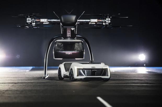Podívejte se, jak vypadá letecká taxislužba společností Audi a Airbus
