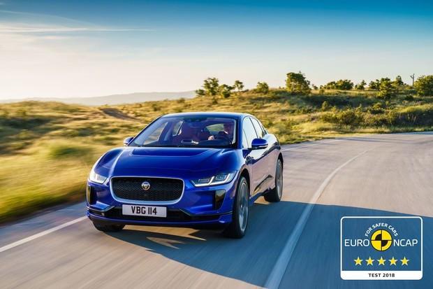 Jaguar I-PACE si v testech Euro NCAP vedl velmi dobře