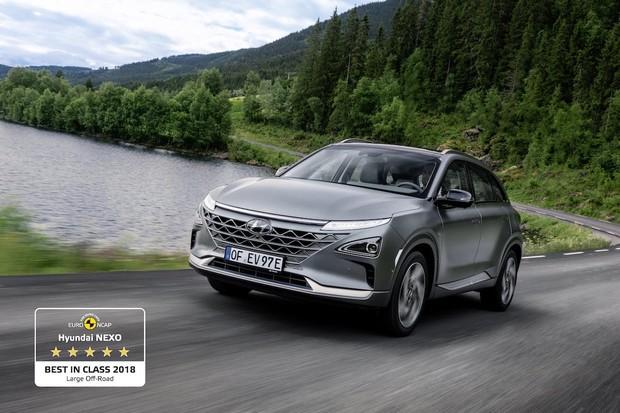 """Hyundai Nexo bodoval v testu bezpečnosti Euro NCAP. Získal ocenění """"Best in Class"""""""