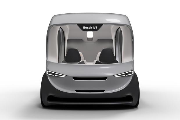 Bosch na CESu ukáže autonomní elektromobil. Bude sloužit jako shuttle