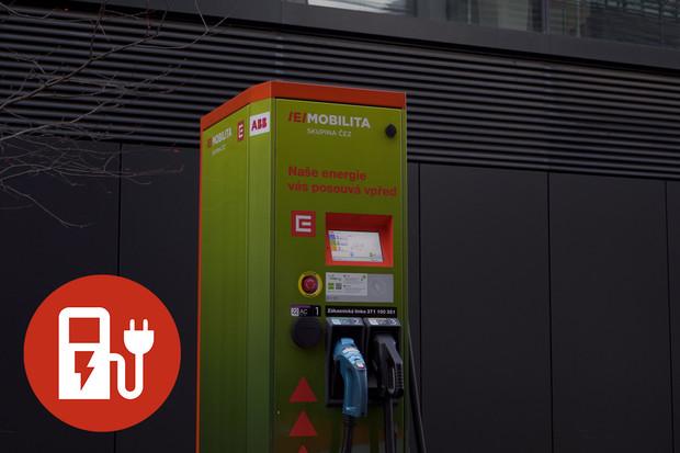 Jak nabít elektromobil u rychlonabíjecí stanice ČEZ?