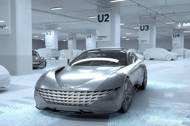 Auto si samo zajede k nabíječce a po dobití se přeparkuje, plánují Hyundai a Kia
