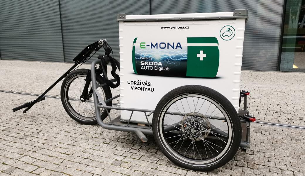 Mobilní nabíječka elektromobilů E-MONA