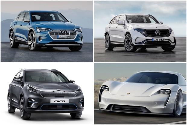 Letos dorazí na trh Audi e-tron, Mercedes EQC i Porsche Taycan. A kdo další?