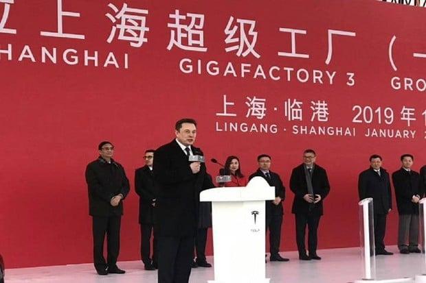 Gigafactory Šanghaj bude elektromobily nejen vyrábět, ale i recyklovat