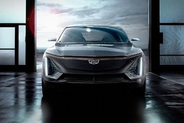 Cadillac v Detroitu ukazuje koncept elektrického crossoveru