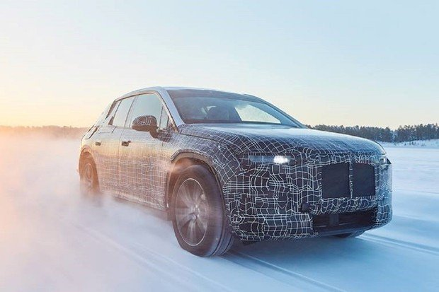 BMW iNEXT prochází náročným zimním testováním za polárním kruhem
