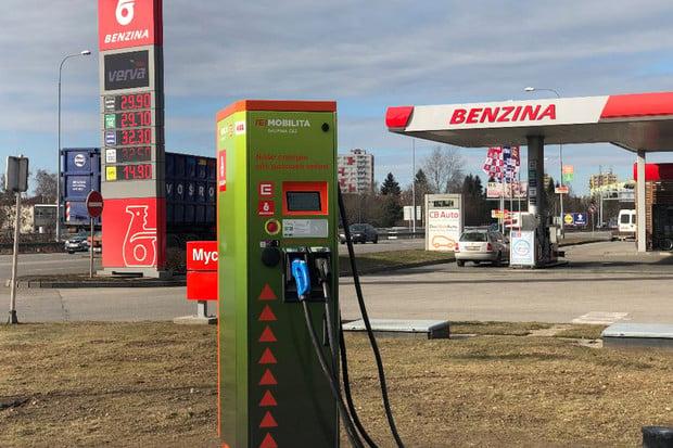 České Budějovice hlásí novou rychlonabíjecí stanici