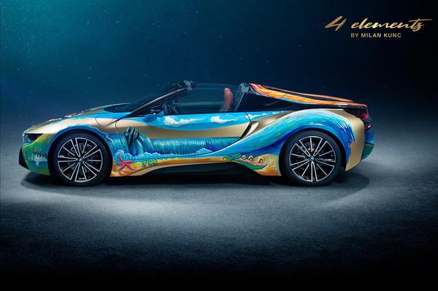 Dražba 'BMW i8 Roadster 4 elements by Milan Kunc' pomůže vyčistit oceány