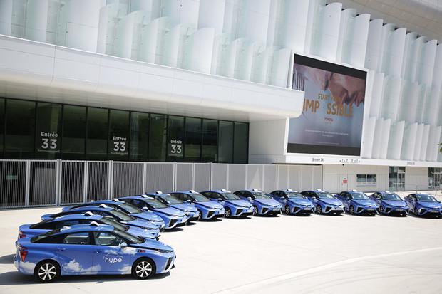 V Paříži se budete moci svézt jedním ze 600 vodíkových taxi