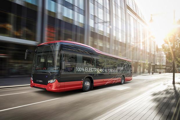 Scania ve Švédsku spouští zkušební provoz autonomních autobusů