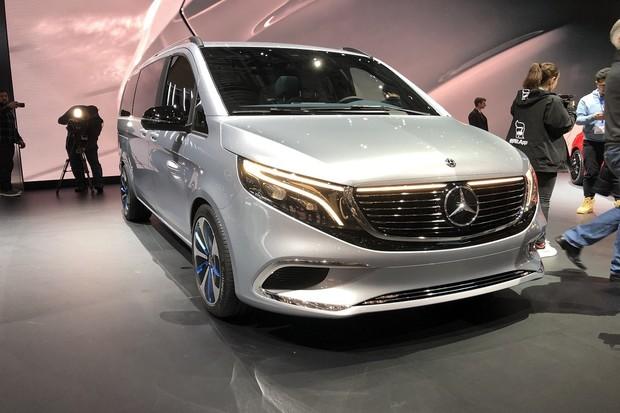Mercedes EQV je první prémiové elektroMPV
