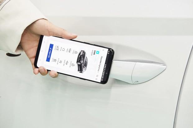 Hyundai nabídne odemykání a startování auta pomocí chytrého telefonu