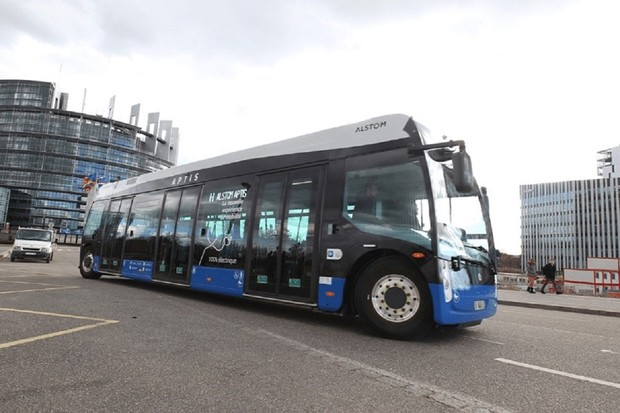 Do ulic Štrasburku brzy vyjedou první elektrobusy značky Alstom