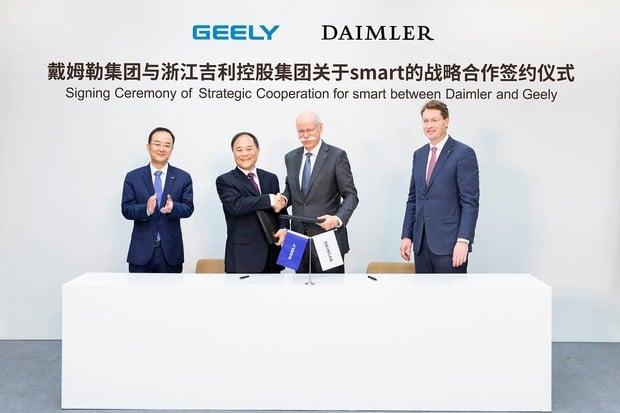 Vozy smart budou už jen elektrické. Daimler a Geely je budou vyrábět pro celý svět
