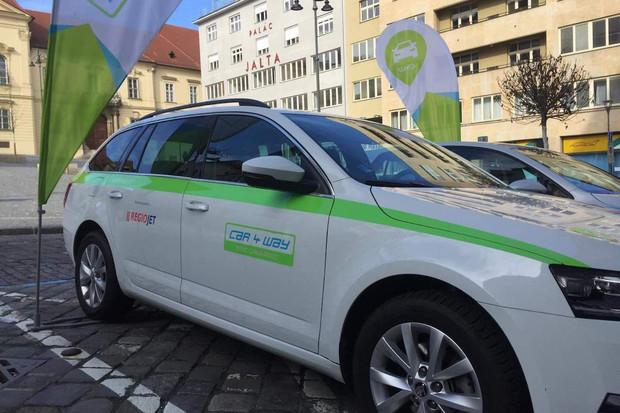 CAR4WAY ve spolupráci s RegioJetem přišel se zajímavou nabídkou