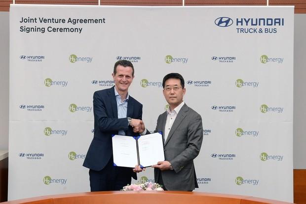 """Hyundai chce být lídrem  v evropském """"ekosystému"""" vodíkové mobility"""