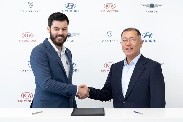 Hyundai a Kia nalily do Rimacu 80 milionů eur. Investice jim usnadní stavbu supersportu