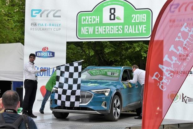Radosti, souboje a také zklamání. Taková byla Czech New Energies Rallye 2019