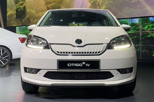 Škoda odhalila Citigo pro rok 2020, svůj první sériově vyráběný elektromobil