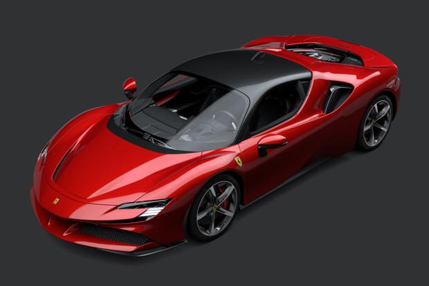Ferrari představilo plug-in hybridní supersport SF90 Stradale